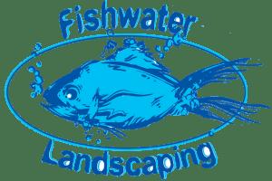 FishWater Landscaping Full Logo