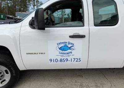 Fishwater Landscaping Work Truck