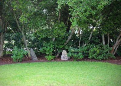 Rocks in Landscape Woodline