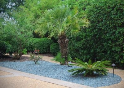 Wrightville Beach Residential Landscape Bed